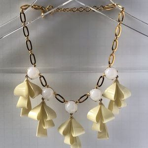 J. Crew Ribbon Statement Necklace